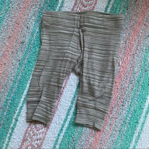 MILKBARN striped Leggings size 3-6 months